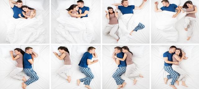 Amore e posizioni di sonno: cosa significano?